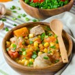 Curry with pumpkin and corn — Stock Photo #41861111