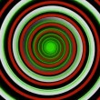Colorful hypnotic spiral — Stock Video #12902394