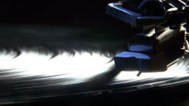 Record player, dark — Stock Video #13076277