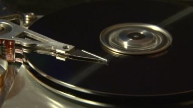 Hard Disk Drive, close up. — Stock Video