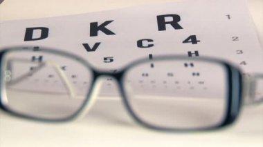 Eye test — Stock Video