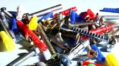 Screws, plugs — Stock Video