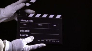 Clapperboard — Stock Video