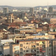 Stock Video: Belgrade, Zemun, buildings, city
