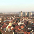Stock Video: Belgrade, Zemun, landscape, city