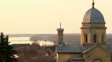 Belgrade, Zemun, Church St Dimitrije — Stock Video