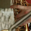 Stock Video: Saxophone