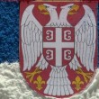 Serbia - map and flag - zoom — Stock Video #14778851