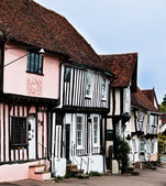 Timber cottage of Lavenham, England, Suffolk, UK — Stock Photo