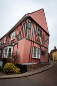 Timber framed house, Lavenham, Suffolk, England — Stock Photo