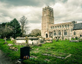 Old church in Thurston, a small village in Suffolk — Stock Photo
