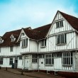 Stock Photo: Guildhall lavenham, timber cottage, Suffolk, UK