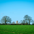 village church, thurston, suffolk, england — Stock Photo