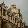 University buildings, architecture, Cambridge, England, Uk — Stock Photo
