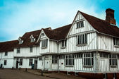 Guildhall lavenham, timber cottage, Suffolk, UK — Stock Photo