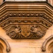 Architecture and details of Cambridge, University, England, UK — Stock Photo