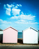 Felixstowe beach, Suffolk, England, UK — Stock Photo