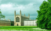 King's college, Cambridge University early spring, England, UK — 图库照片