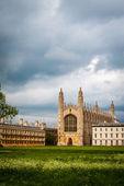 King's college, Cambridge University, England, UK — Zdjęcie stockowe
