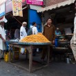 Roadside food seller in Lahore, Pakistan — Stock Photo #47641003