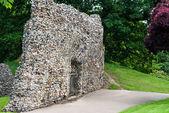 Abbey gardens, Bury St Edmunds, Suffolk, UK — Stock Photo
