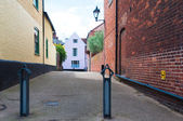 Row of Georgian Town Houses in Bury St Edmunds — Stock Photo