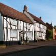Timber framed English cottages - Suffolk countryside, Lavenham, UK — Stock Photo #49481251
