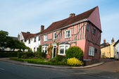 Timber framed houses, Lavenham, Suffolk, England — Stock Photo