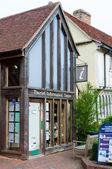 Beautiful Lavenham tourist information centre, Suffolk, UK — Stok fotoğraf