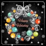 Christmas hand drawn fur tree for Xmas design — Stock Vector #35971723