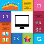 Set of Infographic Elements. — Stock Vector