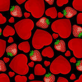 Seamless pattern from hearts — ストックベクタ