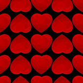Seamless pattern from hearts — Cтоковый вектор