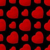 Seamless pattern from hearts — Stockvector
