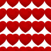 бесшовный фон из сердец — Cтоковый вектор
