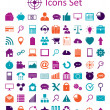 Stock Vector: Universal Outline Icons For Web and Mobile.
