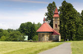 Church in the countryside — Stock Photo