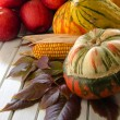 Autumn vegetables and fruits — Stock Photo #13884791