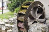 Water molen wiel — Stockfoto