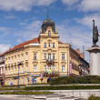 Marian Square in Znojmo, CZECH REPUBLIC — Stock Photo