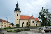 Church of St. Stanislav in Kunstat, Czech Republic — Foto de Stock