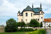 Temple of the Holy Cross Finding, Litomysl, Czech Republic — Stock Photo