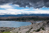 Town of Pag, Island of Pag, Croatia, Europe — Stock Photo
