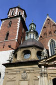 Cathedral in Krakov — Stock Photo
