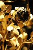 Gold rose from museum in Austria — Zdjęcie stockowe