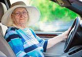 Aktivní důchodce — Stock fotografie