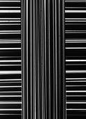 Black and white stripes — Stock Photo