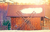 Decorative shed — Stock Photo