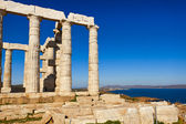 Temple of poseidon in Sounio, Greece — Stock Photo