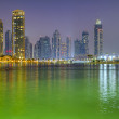 Dubai view at night time — Stock Photo #13132881